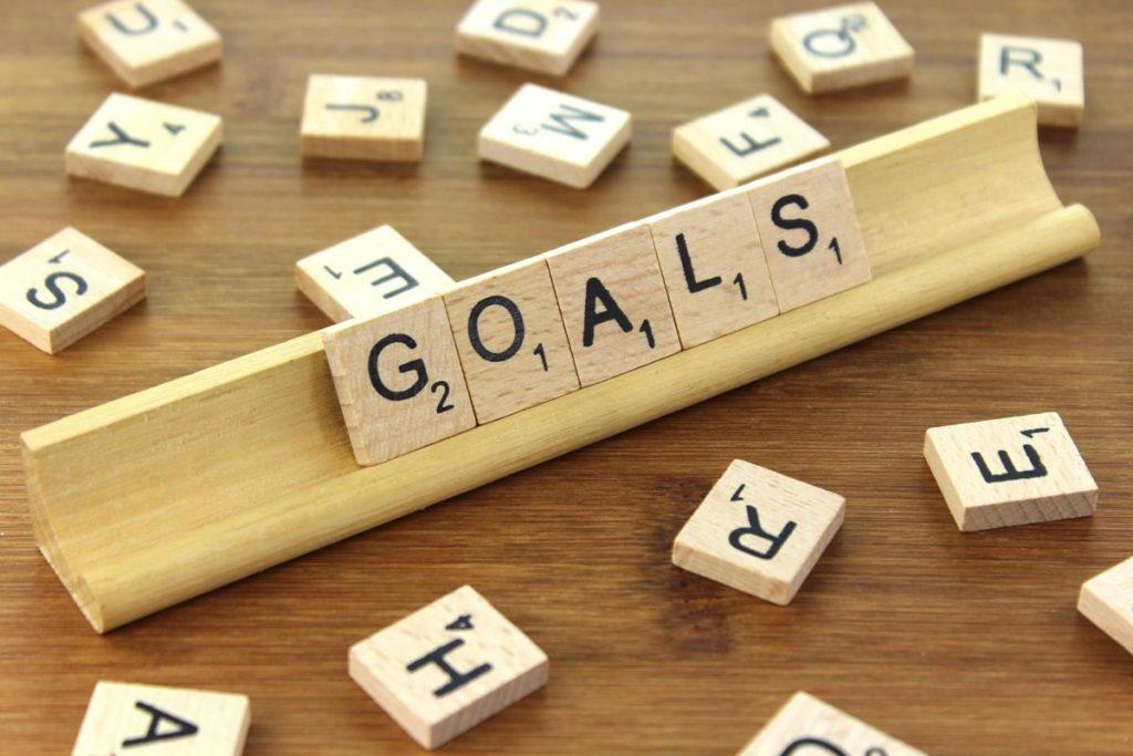 goal setting tiles